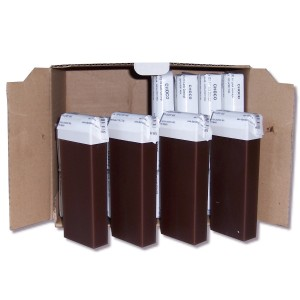 Pack 24 x 100 ml - Cire à épiler - Chocolat