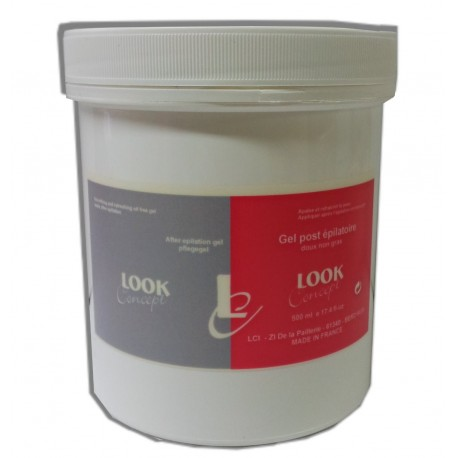 Gel post-épilation INIPIL - 500 ml - Soin après épilation
