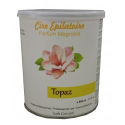 Pot 800 ml - TOPAZ type MIEL - Cire à épiler