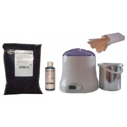 Cid Epil. Kit épilation 800ml - Cire Pelable fruits rouges 1 kg Perles
