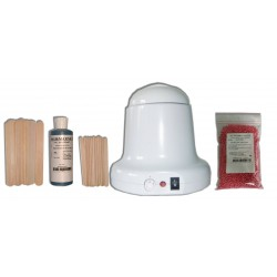 Kit 400ml Rose Cire Traditionnelle 200g Perles