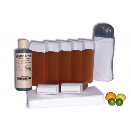 Kit épilation 7 x 100 ml - MIEL AGRUMES - Cire à épiler