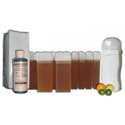 KIT EPILATION 12 x 100 ml - MIEL AGRUMES - Cire à épiler