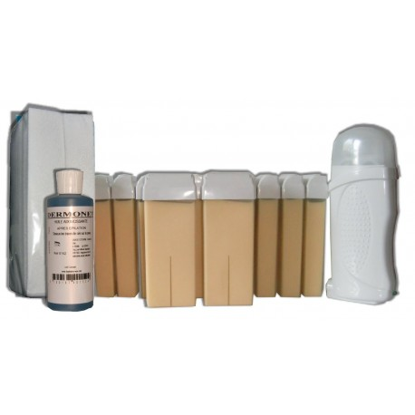 Kit épilation 12 x 100 ml - BLANCHE - Cire à épiler