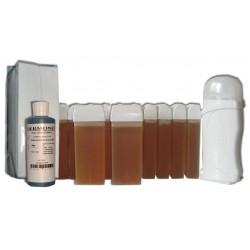 Kit épilation 12 x 100 ml - TOPAZ - Cire à é