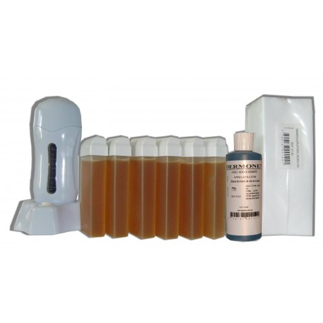 Topaz type miel - SEO - Kit épilation 6 x 100 ml