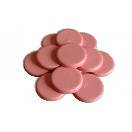 Galets cire traditionnelle 1 kg - Rose