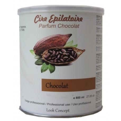 Pot 800 ml - Cire à épiler - Chocolat