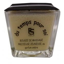 AMBRE - 210 g - Précieuse - Bougie de massage