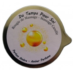 Bougie de massage ambre de 150g