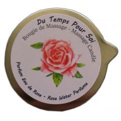 Eau de rose 150 g - Bougie de massage