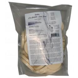 nacrée blanche, 1 kg Galets de cire à épiler Pelable