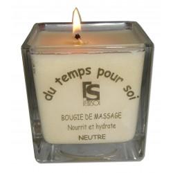 Blanche - 210 g - Neutre - Bougie de massage