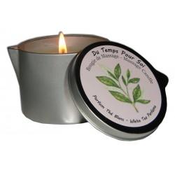Thé blanc 150 g - Bougie de massage à l'huile chaude
