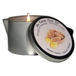 Neutre 150 g - Bougie de massage parfait et discret