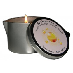 Bougie de massage ambre de 150g