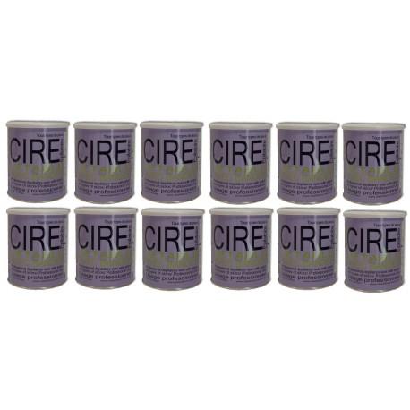 Pack Fushia - 12 Pots cire à épiler 800 ml