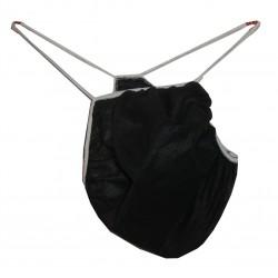 String noir homme 10, à usage unique