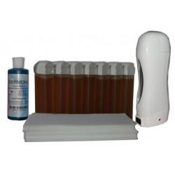 Topaz type miel - SOLOR - Kit 7 x 100ml cire jetable