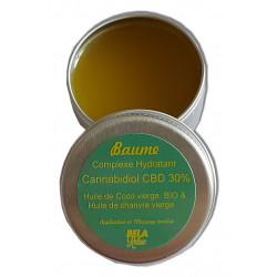 Baume avec Hemp oil et huile de coco, CBD 4500 mg dans la boite