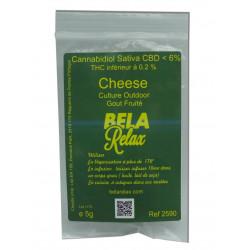 Fleur CBD Cheese à fumer tranquilos le soir