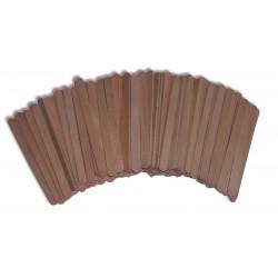 Spatule bois pour le visage - Sachet de150