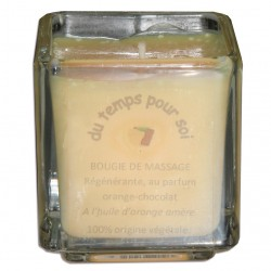 Orange Chocolat - 60 g - Bougie de massage