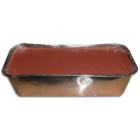 Cire à épiler chaude - Barquette - Rose - 1000 ml