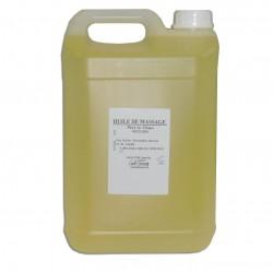 Huile de massage - Adoucissante - Jasmin - 5 litres