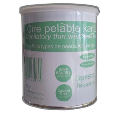 Pot de cire Pelable - Karité - 800 ml