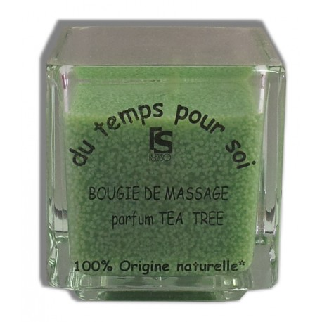 Bougie de massage Tea tree , 60 g