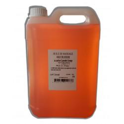 Huile de massage adoucissante Canelle Orange - 5 litres