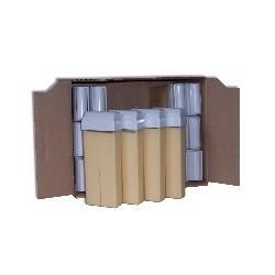 Pack 24 x 100 ml - Cire à épiler - Nacrée Blanche